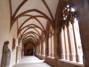 Kreuzgang im Mainzer Dom - hier hätte man auch die Harry-Potter-Filme drehen können!